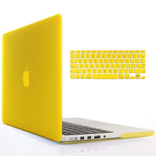 """BLACK Silicone Keyboard Cover for Macbook Pro 13/"""" A1425 with Retina Display"""