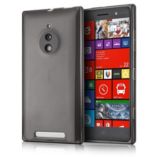 sports shoes 79791 f6b2e Nokia Lumia 830 - TPU Soft Protective Phone Cover Case - Clear Matte Black