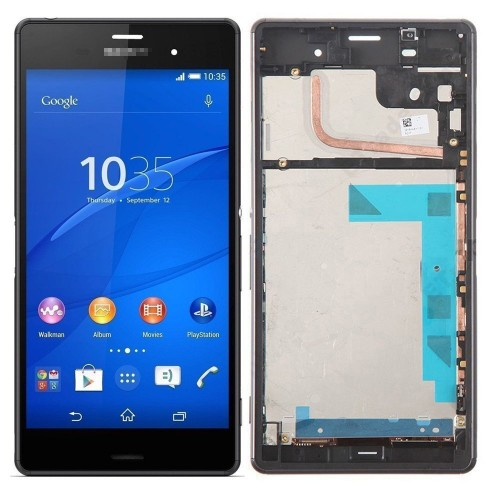 Color : Black LCD Screen Mobile Phone and Digitizer Full Assembly for Sony Xperia 10 Black