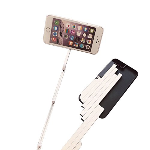 iphone 6 6s plus 5 5 aluminium selfie stick creative hard phone stand protective cover case. Black Bedroom Furniture Sets. Home Design Ideas